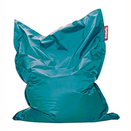 Gewicht Fatboy Zitzak.Zitzak Fatboy Original Turquoise Kopen Heutink Nl