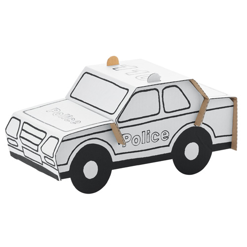 Bouwpakket Karton Politieauto Kopen Heutink Nl